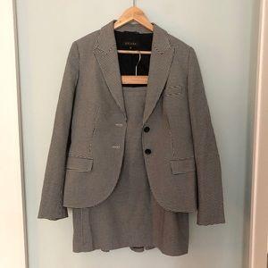 Vintage '80s  Escada Houndstooth Skirt Suit
